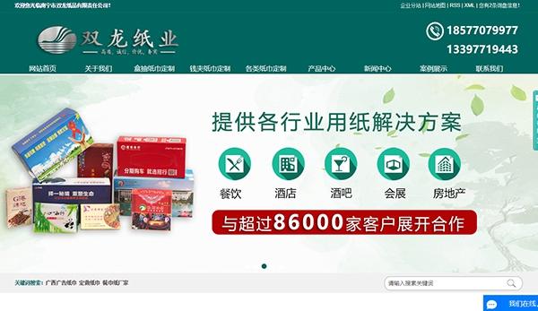 南宁市双龙纸品有限责任公司